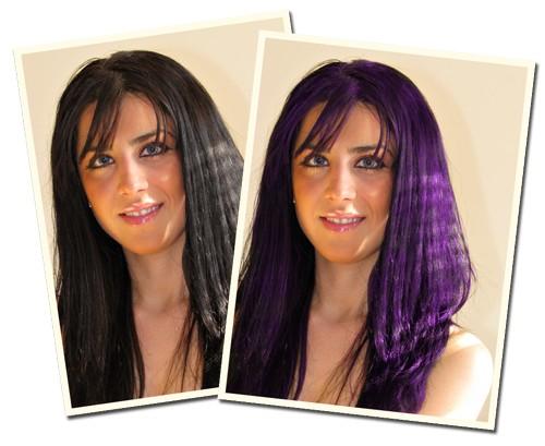 Tutorial Photoshop cambia el color del pelo ChicaGeek