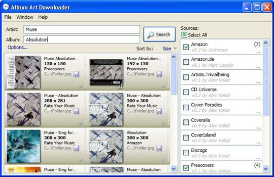 album-art-downloader