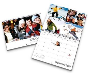 Crea tu propio calendario 2009 gratis