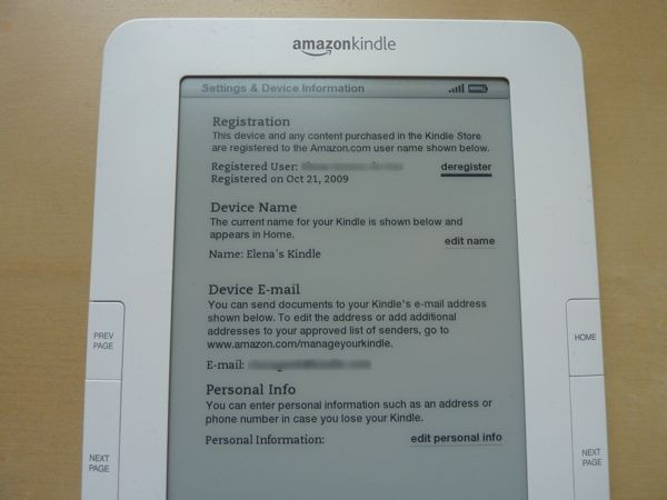 kindle-settings