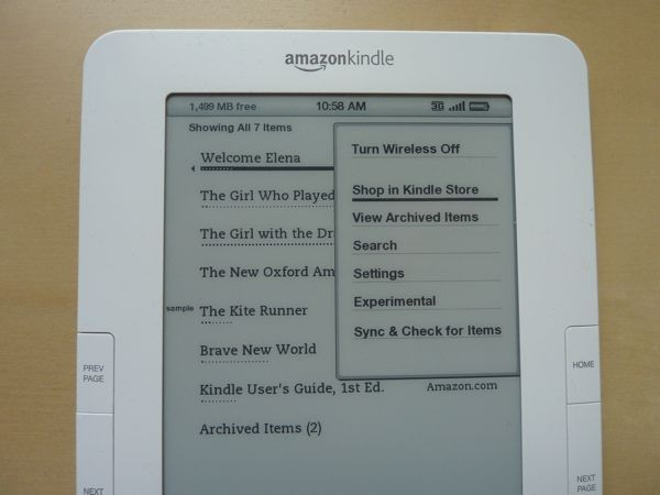 kindle-menu