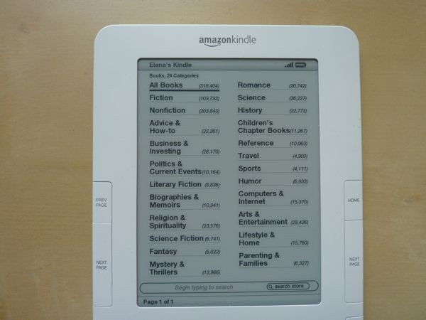 kindle-categorias