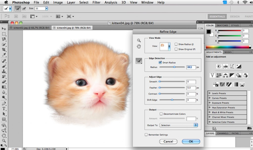 photoshop-CS5-refine-edge