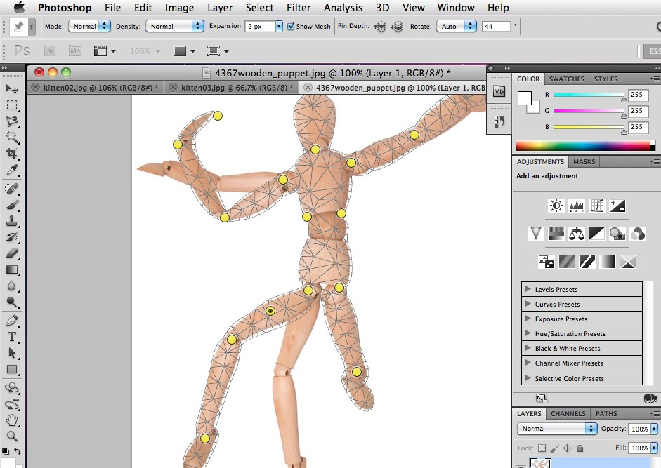 photoshop-CS5-puppet-warp