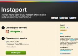 Descarga tus fotos de Instagram con Instaport