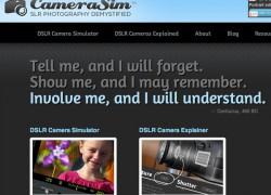 CameraSim: para aprender fotografía de verdad