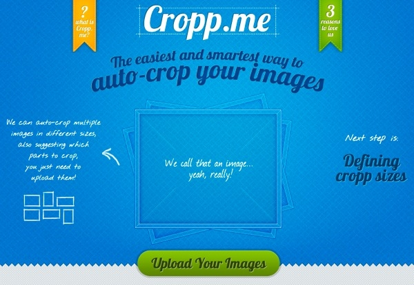 Cropp.me: recorta imágenes online en un clic
