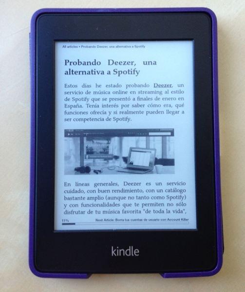 Cómo convertir un feed RSS en un ebook con Calibre