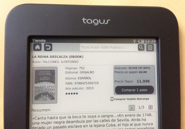 An lisis ebook tagus lux de casa del libro chicageek - Ebook casa del libro ...