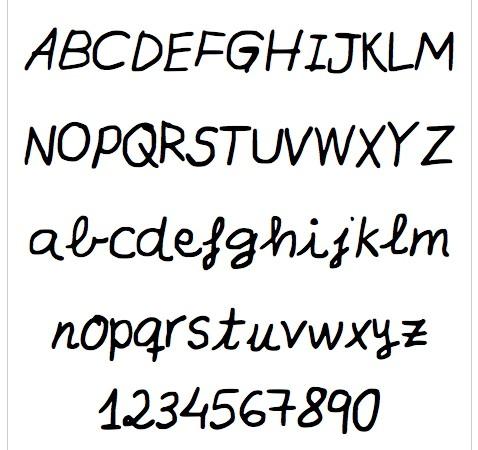 Cómo crear una fuente de texto con tu letra