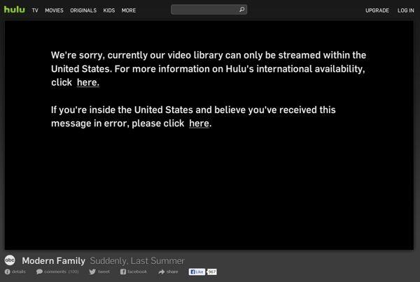 Elimina el bloqueo regional para ver series online