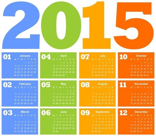 Cómo crear un calendario personalizado para 2015 - ChicaGeek