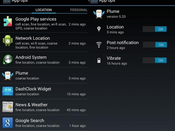 Controla los permisos de aplicaciones en Android