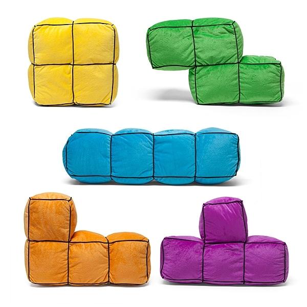 Cojines de Tetris, justo lo que necesita tu sofá   ChicaGeek