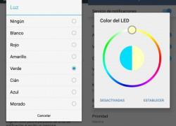 Cómo personalizar el LED de Android