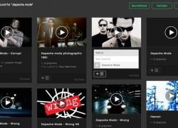 Playmoss: crea listas de música con vídeos de YouTube, Vimeo y Soundcloud