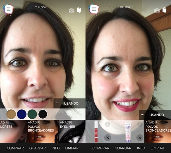 simulador maquillaje