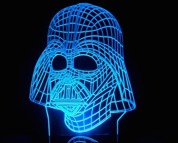 lámpara de LED Decora con esta casa y tu Darth fuerza la mvnNwO80