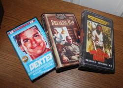 Series y películas recientes, en formato VHS