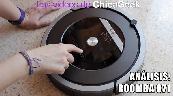 Vídeo: análisis del Roomba 871