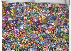 Atrapa a todos los 721 Pokémons de este edredón