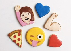 Galletas de emoji demasiado adorables para comérselas