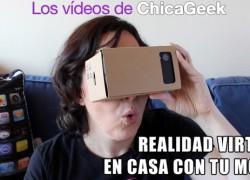 Vídeo: monta tu propio sistema de realidad virtual con Google Cardboard