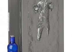 Nevera portátil con Han Solo congelado en carbonita