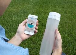 HidrateMe, una botella que te recuerda que bebas más agua