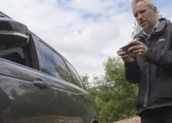 Este coche se puede conducir con una app de móvil