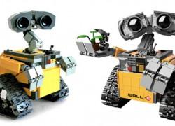 Wall-E llega a LEGO para derretirte el corazón