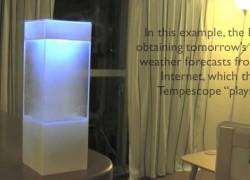 Tempescope: simulador de tiempo atmosférico para tu salón