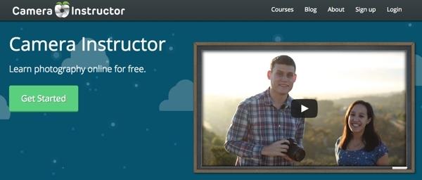 Aprende fotografía con Camera Instructor, un curso online gratis