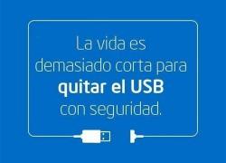 Qué puede pasar si no extraes un USB de forma segura