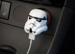 Cargador USB de coche para fans de Star Wars