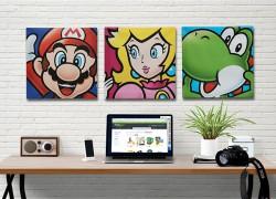 Decora tu casa con estos cuadros en lienzo de Mario