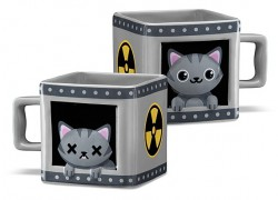 El gato de Schrödinger en una taza