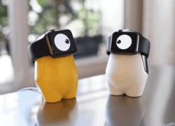 Esta base cargadora para Apple Watch parece un Minion