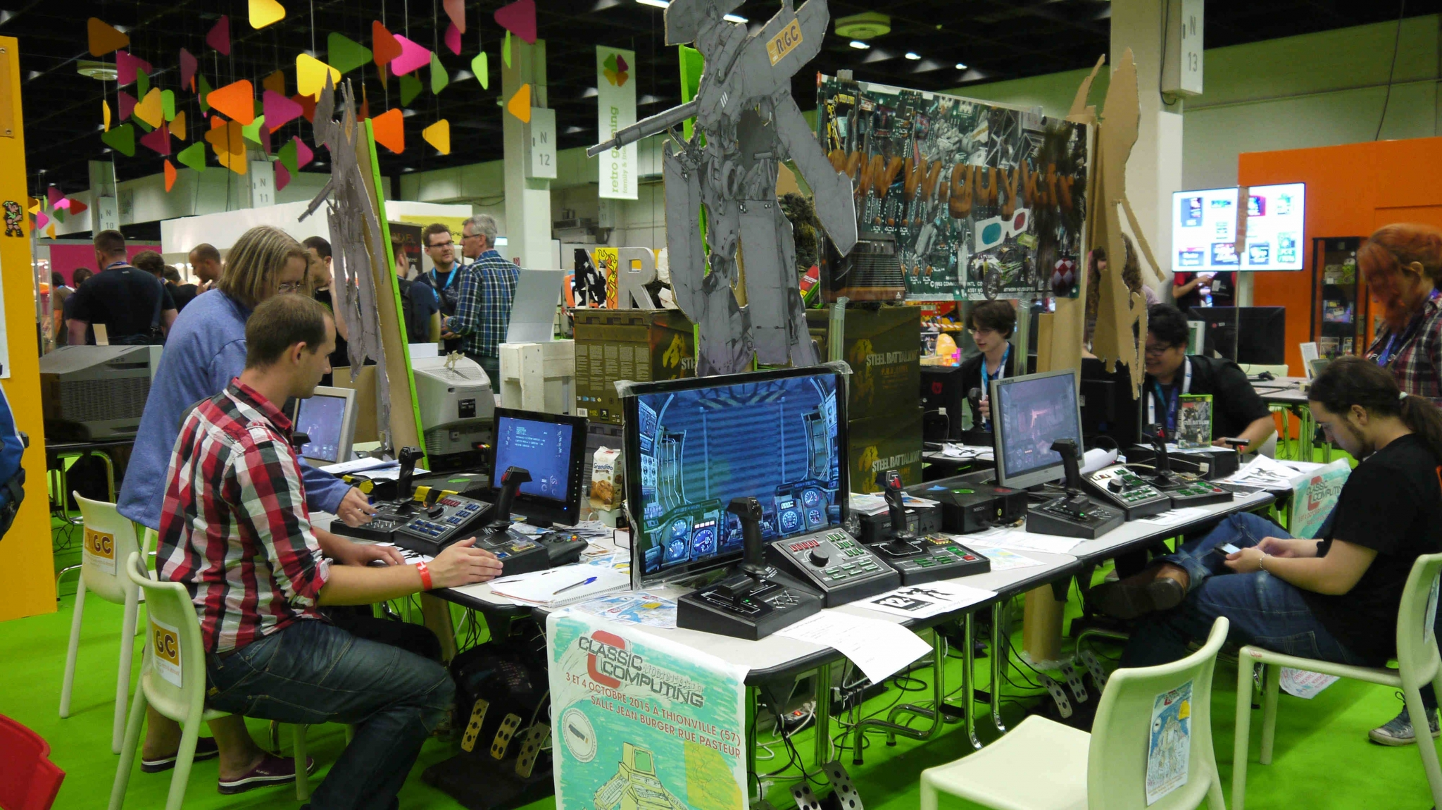 Zona retro Gamescom 2015 TAGS:undefined