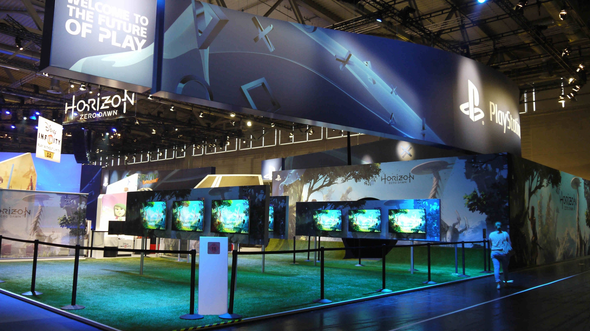 Stand de Sony en la Gamescom 2015 TAGS:undefined