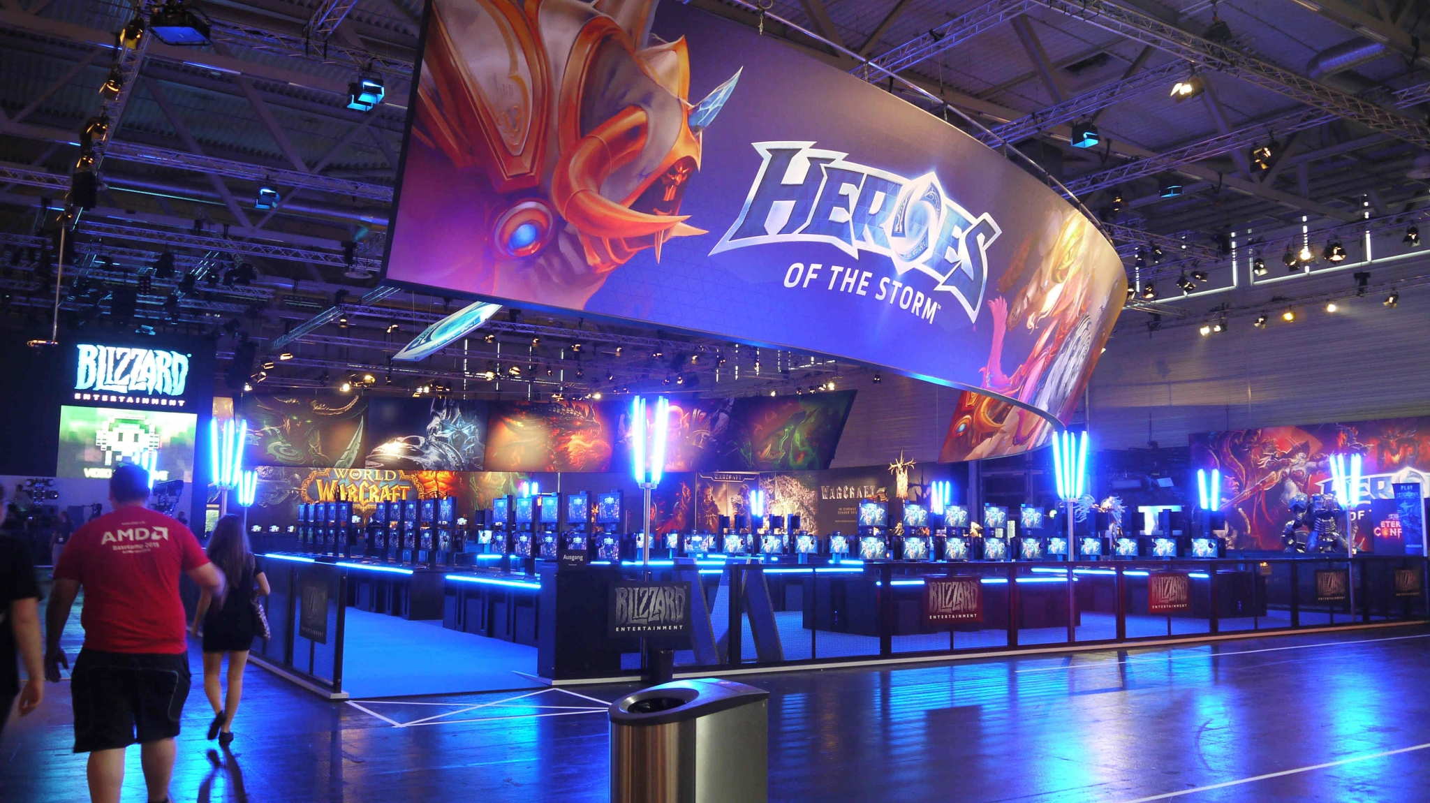 Blizzard en la Gamescom 2015 TAGS:undefined