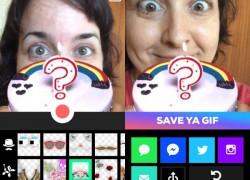 Crea divertidos GIFs animados en tu móvil con Giphy Cam
