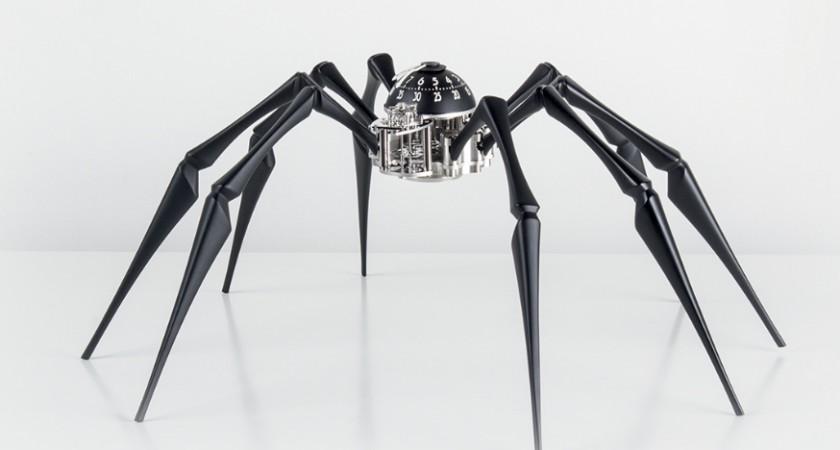 MB&F Aracnofobia: la locura hecha reloj de diseño