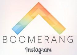 Boomerang, la nueva app de Instagram para crear imágenes animadas