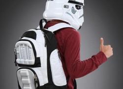 Mochila de soldado imperial para volver a clase con Star Wars