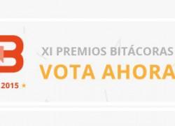 Vota por ChicaGeek en los Premios Bitácoras