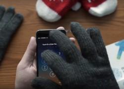Usa cualquier guante con una pantalla táctil gracias a Nanotips