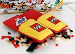 Zapatillas especiales para evitar el dolor de pisar sobre piezas de LEGO