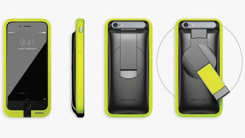 AMPWare: batería y funda para iPhone que se carga a mano