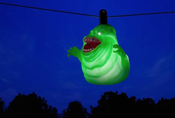 Decora tu casa por Halloween con el fantasma de Cazafantasmas